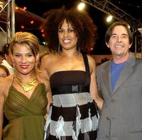 Tania Dako, Christine Anu and John Paul Young at the Popstars Live final.
