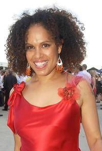 Christine Anu at the Golden Slipper Racing Carnival.