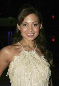 Natalie Mendoza at the NW Magazine party for the launch of the Channel 9 TV show