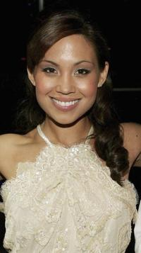 Natalie Mendoza at the NW Magazine party for the launch of the Channel 9 TV show.