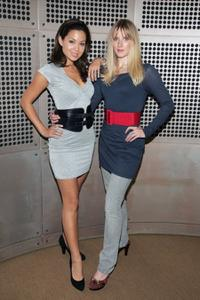 Natalie Mendoza and Shauna MacDonald at the promotion of