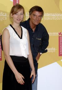 Isild Le Besco and director Benoit Jacquot at the photocall of