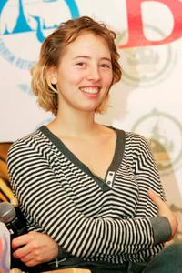 Isild Le Besco at the press conference of