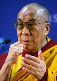 The Dalai Lama (XIV) at the