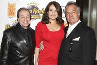 Dan Grimaldi, Lorraine Bracco and Tony Sirico at the launch of Bracco Wines.