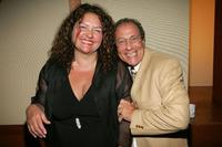 Aida Turturro and Dan Grimaldi at the St. Jude's Children's Research Hospital Benefit.
