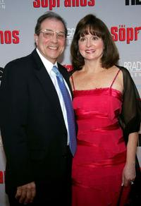 Dan Grimaldi and Florence Grimaldi at the HBO premiere of
