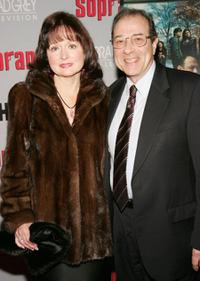 Florence Grimaldi and Dan Grimaldi at the HBO premiere of