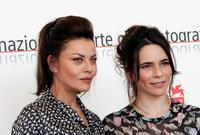 Eva Grimaldi and Silvia De Santis at the photocall of