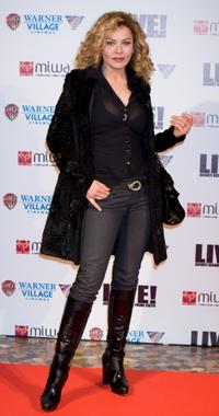 Eva Grimaldi at the premiere of