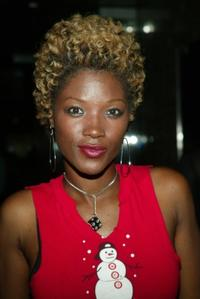 Yolonda Ross at the launch party for the book