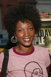 Yolonda Ross at the New York screening of