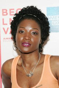 Yolonda Ross at the premiere of