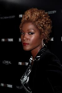 Yolonda Ross at the New York premiere of