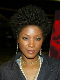 Yolonda Ross at the California premiere of