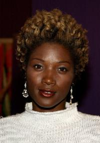 Yolonda Ross at the Los Angeles premiere of