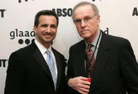Charles Grodin and Neil G. Giuliano at the 17th annual GLAAD Media Awards at the Marriott Marquis Hotel.