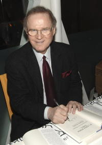 Charles Grodin at the signing books at a party to celebrate his publication of