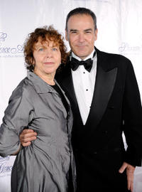 Kathryn Grody and Mandy Patinkin at the 2009 Princess Grace Awards Gala in New York.