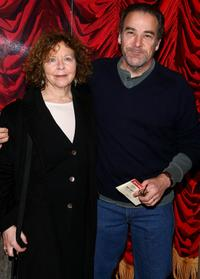 Kathryn Grody and Mandy Patinkin at the New York opening night of