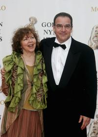 Kathryn Grody and Mandy Patinkin at the 2007 Monte Carlo Television Festival.