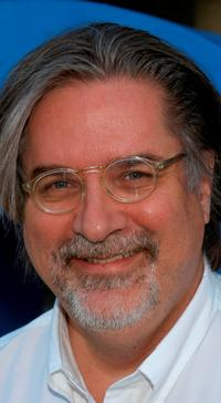 Matt Groening at the 350th episode block party of