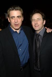 Adam Arkin and Arye Gross at the after party of the opening of