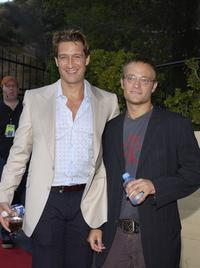 Robert Gant and Chad Allen at the Outfest 2004 Awards Night during the 22nd L.A. Gay and Lesbian Film Festival.