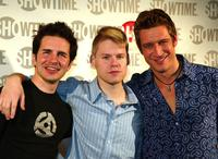 Hal Sparks, Randy Harrison and Robert Gant at the fourth season premiere of