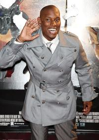 Tyrese Gibson at the Japan premiere of