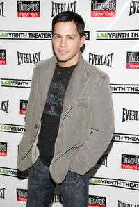 Jay Hernandez at the LAByrinth Theater Companys 4th Annual Celebrity Charades.
