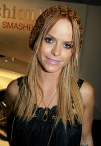 Taryn Manning at the Mercedes Benz Fashion Week.