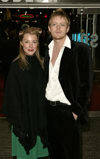 Kris Marshall and Guest at the premiere of