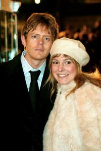 Kris Marshall and Harriette Quarrie at the UK premiere of