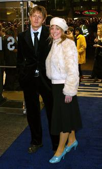 Kris Marshall and Harriette Quarrie at the UK film premiere of