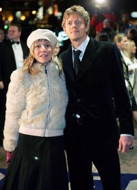 Kris Marshall and Guest at the UK premiere of