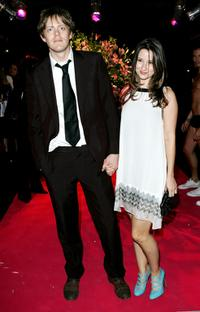 Kris Marshall and Guest at the after party of the world premiere of