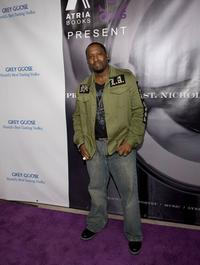 Johnny Gill at the book party for