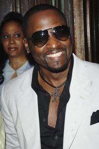 Johnny Gill at the Johnny Gill's 40th birthday celebration.