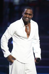 Johnny Gill at the 2002 Essence Awards.