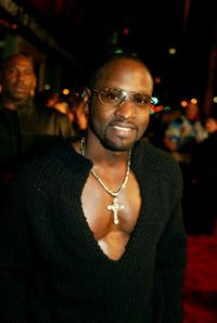Johnny Gill at the premiere of