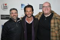 Glenn Ficarra, Rodrigo Santoro and John Requa at the premiere of