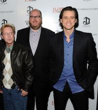 Phillip Morris, John Requa and Jim Carrey at the special screening of