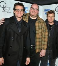 Jim Carrey, John Requa and Ewan McGregor at the press conference of