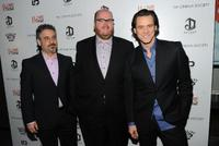 Glenn Ficarra, John Requa and Jim Carrey at the special screening of