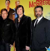 Ewan McGregor, Jim Carrey and Glenn Ficarra at the premiere of