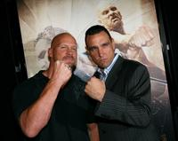 Stone Cold Steve Austin and Vinnie Jones at the special screening of