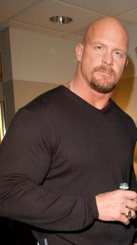 Stone Cold Steve Austin at the MTV Networks Upfront 2003 presentation.