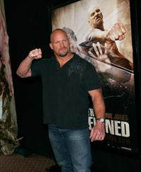 Stone Cold Steve Austin at the special screening of