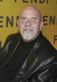 Chuck Close at the Fendi Flagship Store Opening.